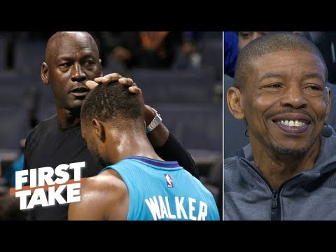 Michael Jordan, Hornets can't afford to lose Kemba Walker - Muggsy Bogues | First Take