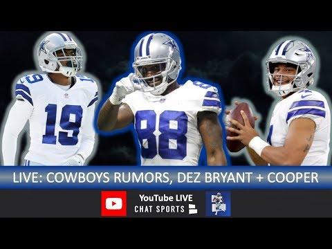 Cowboys Rumors, Dez Bryant, Amari Cooper Injury, Dak Prescott, Leighton Vander Esch, Vikings Preview