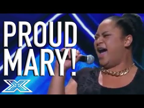 """Young Drag Queen Ashley Tonga Has A PARTY On Stage Singing """"Proud Mary""""   X Factor Global"""