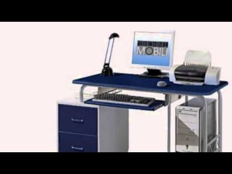 Video Video overview of the 52INCH Wide Kids Computer Desk In Blue