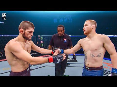 🇷🇺🔥Khabib Nurmagomedov vs Justin Gaethje 🔥🇺🇸   UFC 254: Full Fight-Breakdown & Prediction