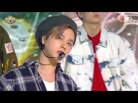 iKON - '고무줄다리기 (RUBBER BAND)' 0318 SBS Inkigayo