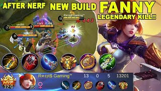 Download Video New Build Fanny Legendary Kill (After Nerf) - Mobile Legends Indonesia MP3 3GP MP4