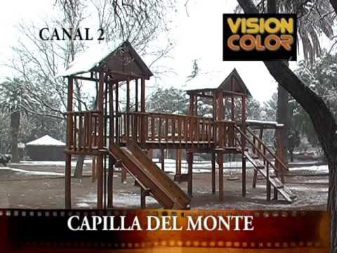 VIDEO DE ARCHIVO DE CANAL 11: MIRA EL VIDEO DE CAPILLA DEL MONTE CON NIEVE