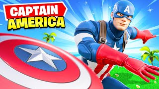 *NEW* CAPTAIN AMERICA arrives in Fortnite! (EPIC) by Ali-A