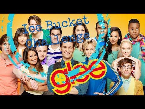 Ice Bucket Challenge GLEE cast (видео)