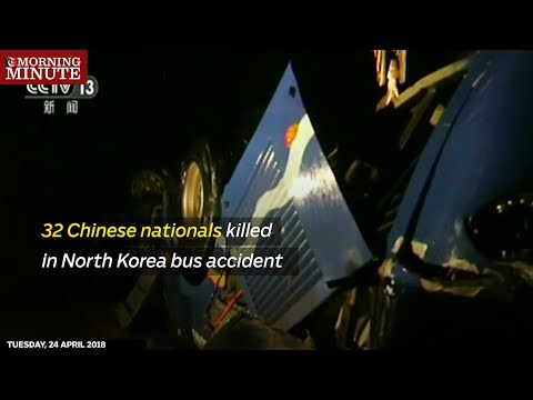 32 Chinese nationals killed in North Korea bus accident