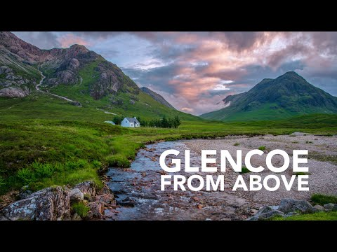 Glencoe from Above (видео)