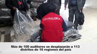 """Contraloría inicia Operativo """"Heladas y Friaje 2017"""" en 16 regiones del país"""