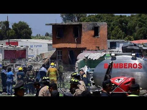 Mexiko: Explosion von Feuerwerkskörperfabrik forder ...
