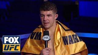 Video Al Iaquinta speaks after defeating Kevin Lee | INTERVIEW | UFC on FOX MP3, 3GP, MP4, WEBM, AVI, FLV Desember 2018