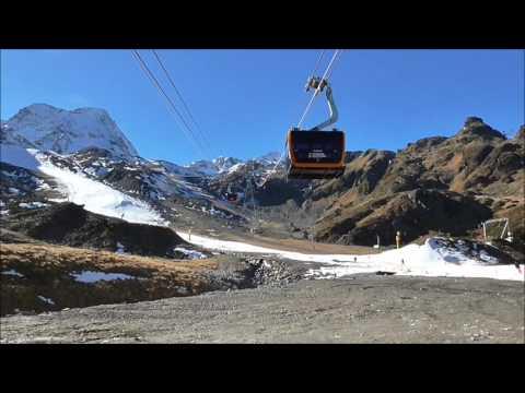 Voyagez dans le nouveau 3S Eisgrat à Stubaier Gletscher