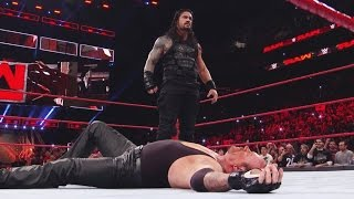 Nonton WWE RAW 20 March 2017 | Roman Reigns Takes Down The Undertaker and Braun Strowman Film Subtitle Indonesia Streaming Movie Download