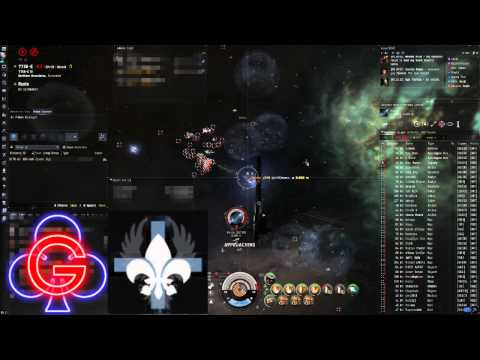 EVE Online - GCLUB - 77S8 Round 2 Vs CFC and DRF - with The Kadeshi and Nulli Secunda