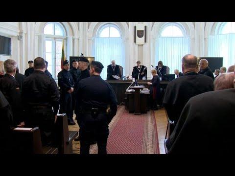 Litauen: Sowjets für den »Blutsonntag von Vilnius« ve ...