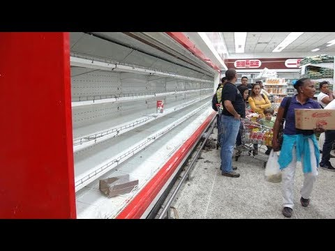 The effects of hunger in Venezuela