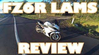 9. 2012 Yamaha FZ6R LAMS review!