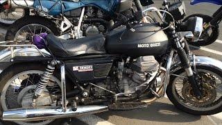 7. Moto-Guzzi Automatic Motorcycle