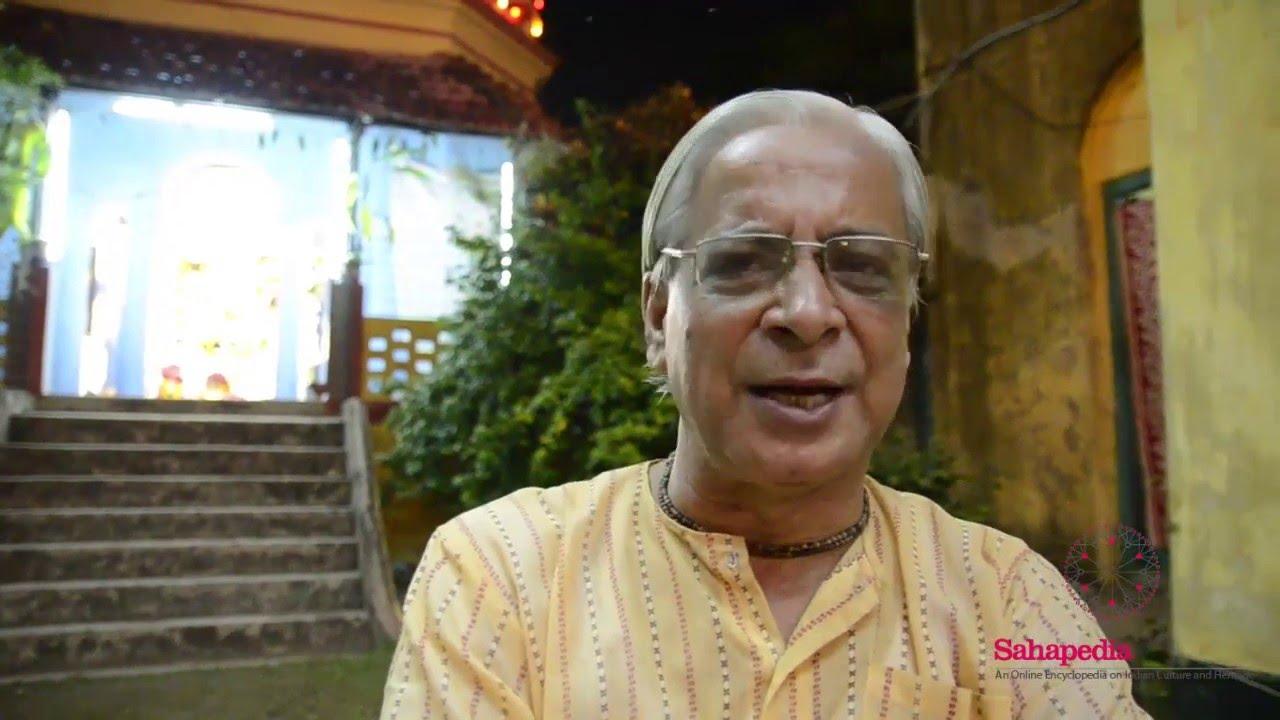 Interview on Boro Goswami Bari puja