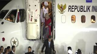 Video Indonesian Vice President Jusuf Kalla arrives in Manila for APEC MP3, 3GP, MP4, WEBM, AVI, FLV Februari 2018