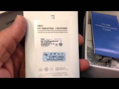 ZTE GRAND S V988 Unboxing Video – CELL PHONE in Stock at www.welectronics.com