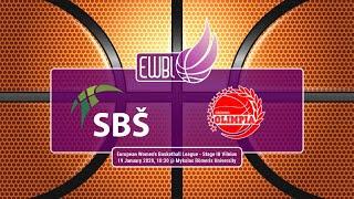 SBS Ostrava – Olimpia Grodno – EWBL 2019/20