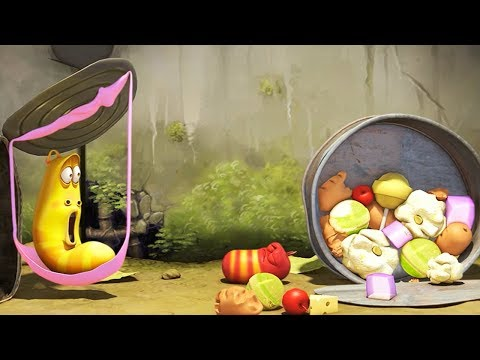 LARVA - FOOD FRENZY | Cartoon Movie | Cartoons For Children | Larva Cartoon | LARVA Official