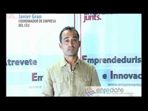 D. Javier Gran, Coordinador de Empresa del CEU, Universidad Cardenal Herrera
