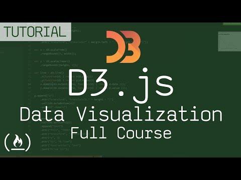 Lет's lеаrn D3.js - D3 fоr dата visuаlizатiоn (full соursе) - DomaVideo.Ru