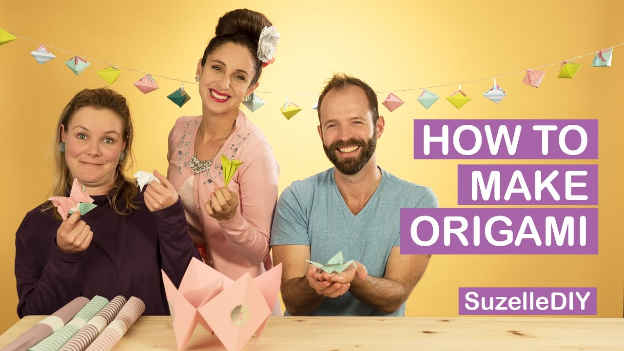 How to make Origami (Featuring White on Rice)-graphic