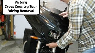 6. 2014 Victory CCT Fairing Removal