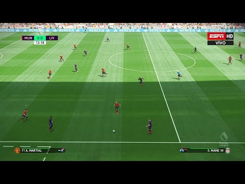 PES 2019 | MANCHESTER UNITED VS LIVERPOOL FC | PREMIER LEAGUE 2019 | Gameplay PC
