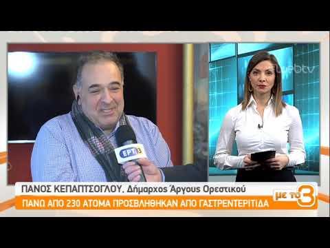 Δηλητηριάστηκαν πάνω από 200 άτομα σε τέσσερα χωριά της Καστοριάς | 28/01/2019 | ΕΡΤ
