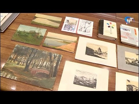 Военная коллекция новгородского музея пополнилась работами художника-фронтовика Юрия Ряховского