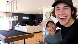 Liza helps me show you guys new home!! Thank goodness she was there! I get scared by myselfBUY OUR CLICKBAIT MERCH: https://fanjoy.co/collections/david-dobrik If you need an interior decorator shoot my friends an email: interiorsrn@gmail.comSUBSCRIBE TO  LIZAS CHANNEL: https://www.youtube.com/watch?v=tRqUdx-xhNo&t=97s LISTEN TO MY NEW PODCAST: https://itunes.apple.com/us/podcast/views-with-david-dobrik-and-jason-nash/id1236778275?mt=2 My main channel: https://www.youtube.com/watch?v=ctkJU05ubck Twitter: @DavidDobrikInstagram: @DavidDobrikSnapchat: @DavidDobrikVine: @DavidDobrikMusically: @DavidDobrik