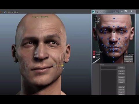 character head rigging demo reel 3ds max tutorials