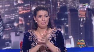 بدموع مؤثرة تتلقى الفنانة مونية لمكيمل رسالة من ابنيها...في رشيد شو