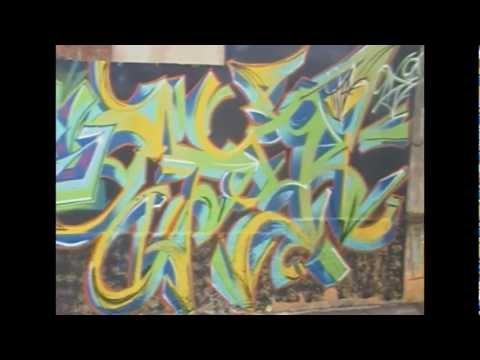 Graffiti em Tatuí com Diego e Raf