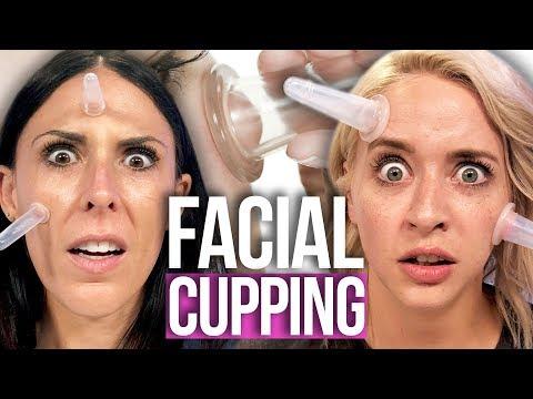 Attempting FACIAL CUPPING?! (Beauty Break)