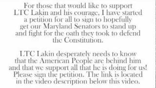 http://www.petitionspot.com/petitions/FightForLakin/ This petition and open letter will be presented to Senators Barbara Mikulski...