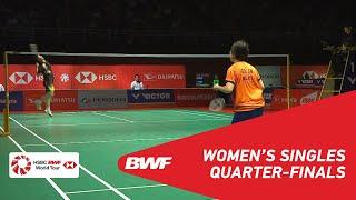 Video QF | WS | GOH Jin Wei (MAS) vs HE Bingjiao (CHN) [5] | BWF 2019 MP3, 3GP, MP4, WEBM, AVI, FLV Januari 2019