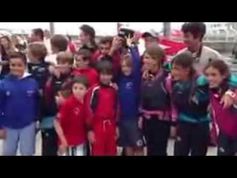 RCMSantander- Entrega del Trofeo Liga Interclubs Gijon 2013