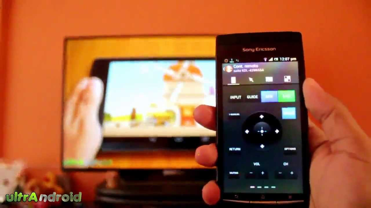 usar android como control remoto para tu tv