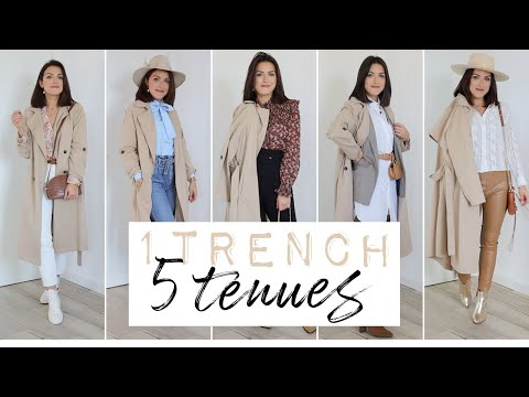 LOOK - 1 trench = 5 tenues