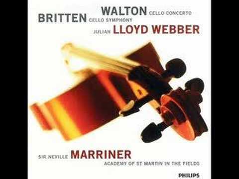 Benjamin Britten Cello Symphony Part 1