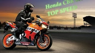 6. Best Top Speed - Honda CBR 600 - (Acceleration 0 - 260 HD+)