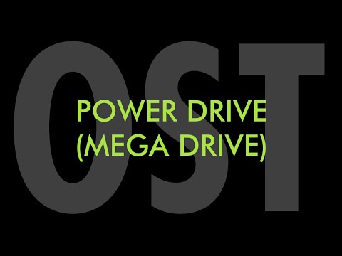 Power Drive Megadrive