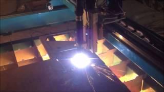 Плазменная резка на станке Metal Master Cut CNC...
