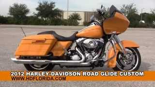 7. Used 2012 Harley Davidson Road Glide Custom Motorcycles for sale
