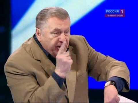 Жириновский. Два выступления